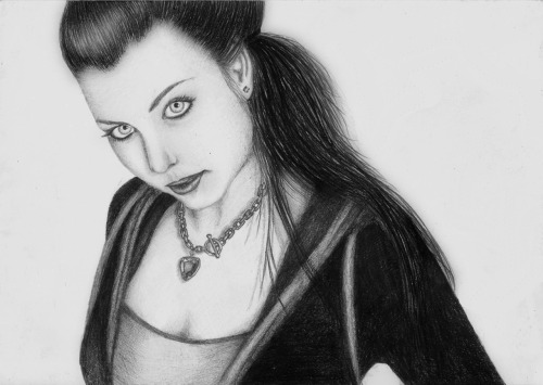 ornelly:  Pencil drawing. Amy Lee.