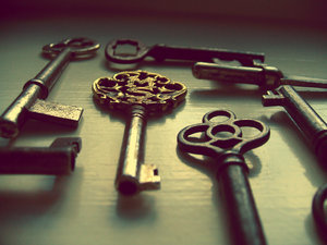 I love old keys