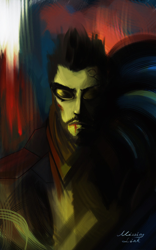 Adam Jensen - The Missing Link by ~CohenR