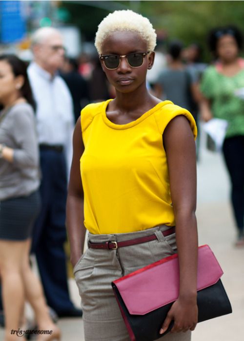 New York Fashion Week: Joanne. Photo by Très Awesome.   (via krissbliss & comingonstrong)