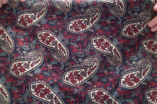 Ooh I also got me some Paisley…
