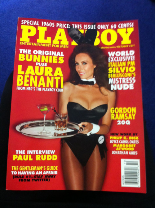 BREAKING NEWS: Playboy just announced that their October issue is only 60 cents in honor of their 1960's issue. No Excuses, Buy One.