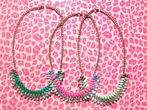 tallgirltales:  Tom Binns-inspired necklaces on Etsy for $36 (if you'd rather not make your own). Update: Sold out! Bookmark the store to see when she gets more in!