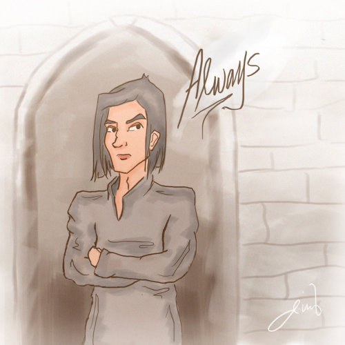 arthicule:  Snape: Always by ~deimlacquer