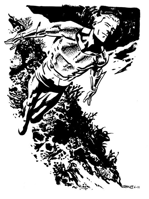Aquaman by Chris Samnee
