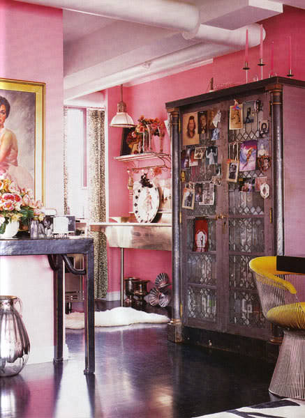 bohemianshoebox:  (via HOME & GARDEN: L'appartement bohème de Betsey Johnson à New-York)