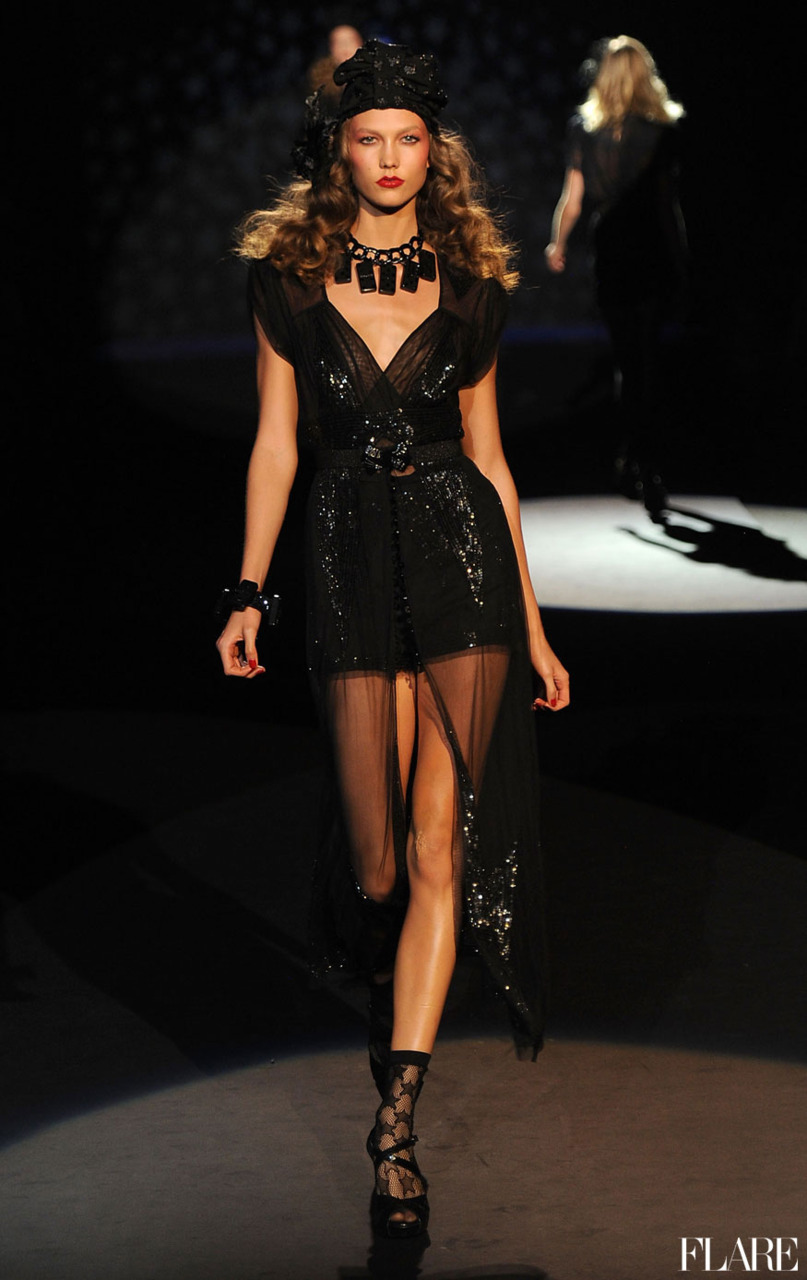Anna Sui - Spring 2012 / Photo Courtesy of Image.net Click here for full reviews of all the top shows at New York Fashion Week Spring 2012