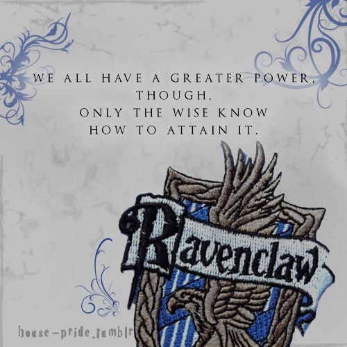 We all have a greater power, though, only the wise know how to attain it.