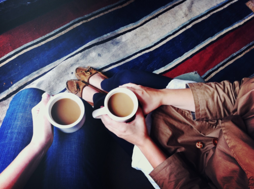 summergoals:  is anyone else excited for warm drinks and more time inside? -a&c