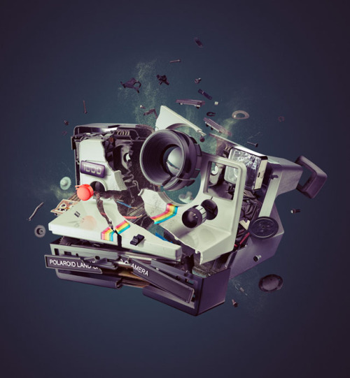 photojojo:  Both glorious and tragic. Exploding Cameras by Staudinger + Franke via laughingsquid  It's so tragic, yet I can't look away!