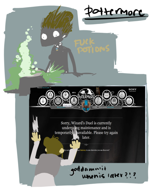 My experiences with Pottermore so far…i still love it…just fuck beta
