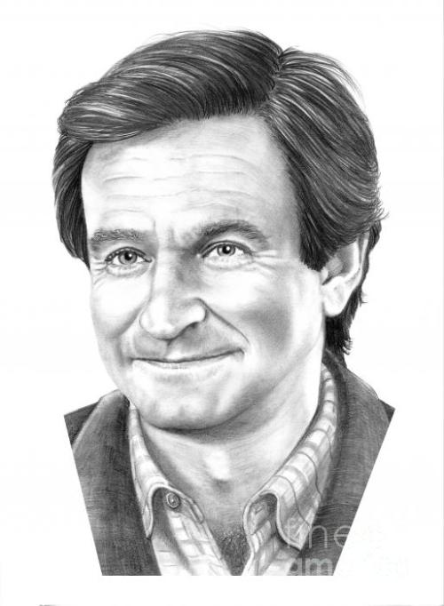 Robin Williams by Murphy Elliott