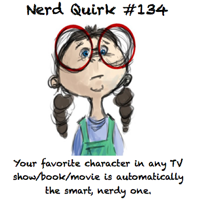 nerdquirks:  It's usually the one I relate to the most… Thanks to drexlerr for this!