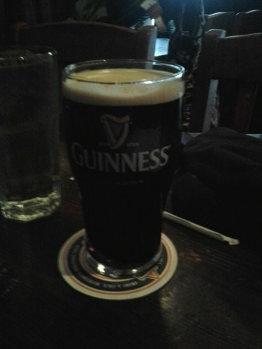 Guinness rounds all around!