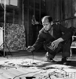 "ART ICON JACKSON POLLOCK | AKA ""JACK THE DRIPPER"" Read more…"
