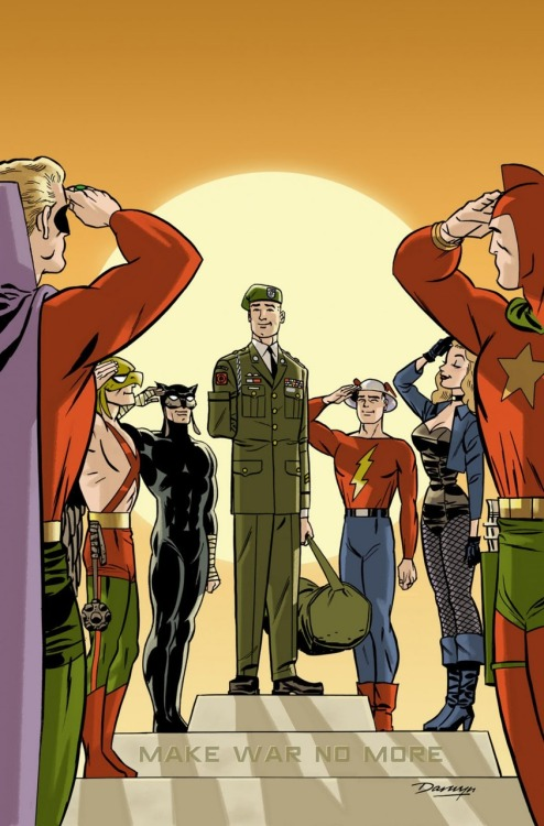michaelcosm:  Make War No More, Darwyn Cooke.  -