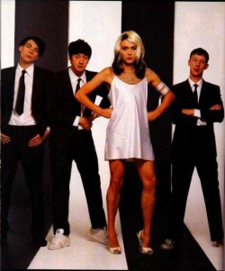 Some idiot called me an idiot for not thinking this was a photo of Blondie. LOL.