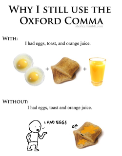 ryancrobert:  the oxford comma and I are besties