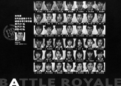 richardtherough:  GOT BATTLE ROYALE? Finished to read the book (fantastic). Time to see the movie (…soon, need to find a good streaming version with sub ita).