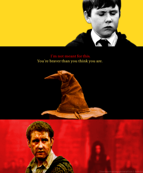 The sorting hat is never wrong.