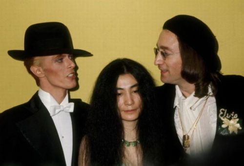 oristone:  David, john and yoko… Great trio P.D: david, you're beautiful with all the letters …