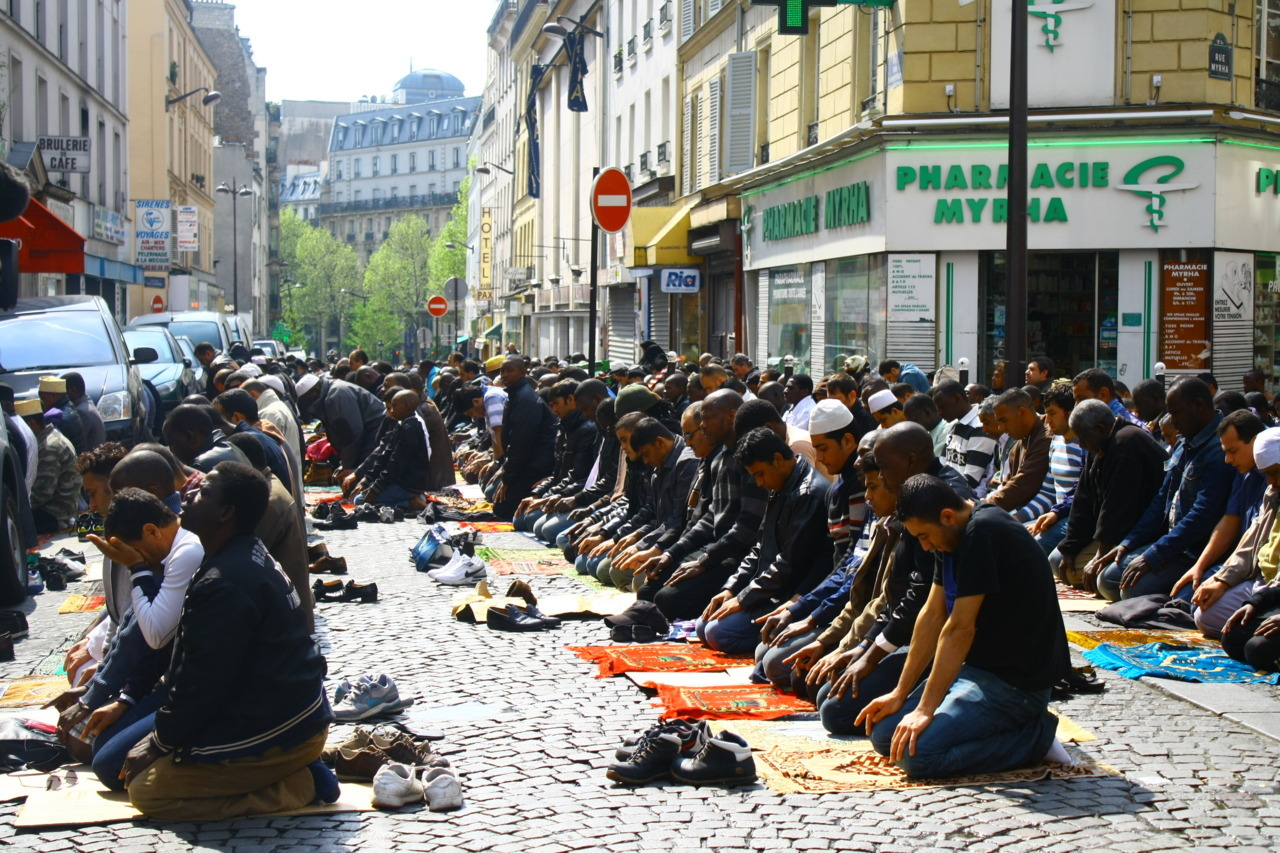 "androphilia:  France bans public Muslim prayers  verbalresistance:  This really doesn't surprise me - if France could get away with a ban on Islam and Muslims themselves, they'd be all over it in a minute. I remember saying earlier, how Muslims outside Europe shouldn't be fooled into thinking Sarkozy was a friend of Muslims - as many polls unfortunately indicate many Muslims are - he's not. Despite his relatively non-interventionist stances in regards to the 'war on terror', as opposed to other European countries, he's a right wing nut-job and populist par excellence domestically, and uses Islamophobia as a potent electoral tool - to a degree of success as well, as he garners the vote of the France's burgeoning far right. This is the same government who farcically banned women from wearing a niqab, even if they wanted to - and if you do, you're just treated like other petty criminals, merely for wearing a garment of your choice - this condescending western approach to Muslim women, because hey, apparently our women are all oppressed, need 'liberation', and can't speak for themselves. This is the same guy who forcedly had Romanian and Bulgarian Roma/Gypsy folk evicted from their houses and deported from the country en masse, on flimsy grounds - at odds with the EU  itself and widely criticised by human rights groups. They even got the  French church involved in having Gypsy members of their parish arrested by the police - policies that can only be described as thinly-veiled ethnic cleansing. This is the same person who wanted to start a national 'identity debate' on if Muslims belong in France. The same government that garners the votes of people who go as far as saying they want Halal food banned in France, because evidently they find it offensive that Muslims can live as they want in their country. The same person that fired a French Muslim minister of his own party, over his criticisms of the way  Sarkozy questioned whether Islam is compatible with France. This is a president who resides over a population that is ~10%  Muslim, the highest proportions inside the EU, yet actively pursues  Islamophobic, and far-right policies at odds with it's human rights  obligations. So no, it doesn't surprise me that France would only further stamp on the feet of Muslims, hypocritically - ""all public prayers in France receive government approval beforehand… 'Here we have the hypocrisy of the French right. On one side, they authorize in the street and on the other side, they say 'look French people, Muslims are taking over our streets and speak of invasion' "" It's just another case of scapegoating Muslims, riding on populist waves of Islamophobia, for electoral gain. Being a country of such a high Muslim population, and such importance within the EU, what France does has a knock-on effect,  and their Islamophobic policies often have much more wide-reaching  effects than within just France itself - with governments thinking ""If  France can get away with it, so can we!"" - leading to a scenario where  France, under the excuse of it's ultra secular Laïcité traditions (which  pans out as discrimination against religion, rather than freedom of  religion) and under guises of pseudo-liberalism, has been at the  forefront of xenophobic policies across Europe - in stark contrast to  the romanticised liberal image of freedom and democracy that people have  of it. France in many ways is an image of what the rest of Europe can come to expect, in terms of governmental xenophobia, as the Muslim populations within each country continue to grow and the right exploit a xenophobic 'fear of another'. Exemplified in the ghastly comparisons as the above - comparing French-national Muslims to the Nazi occupation… it's a theme we see right across Europe, from the Geert Wilders in Netherlands to the FPO in Austria, and so on. We saw just how much of a threat the growing fascist right is in Europe, with the tragic incidence of the Norway shootings and Breiviks well-documented Islamophobic intentions. Indeed, the far-right has always been a bigger threat to European stability than Islam or Muslims ever will be, or intend be; for us European Muslims, its our home, we're not visitors or strangers, or 'occupiers', as the right like to say - the vast majority of us are merely trying to practise our faith and go about our existence peacefully. Not that we should have to explain ourselves to anyone. Unless there's a sea-change in the attitude of European politicians and media -  from scapegoating and institutionalised fear mongering, such as the above, to tolerance, understanding, education and reaching out - then  the far right will continue to play on populist fears and European  society will only be ever more fractious."