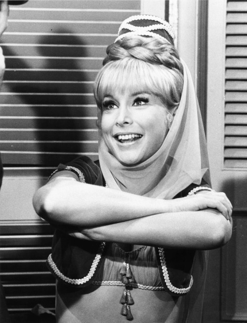 "Barbara Eden in ""I Dream of Jeannie"" 1960's"