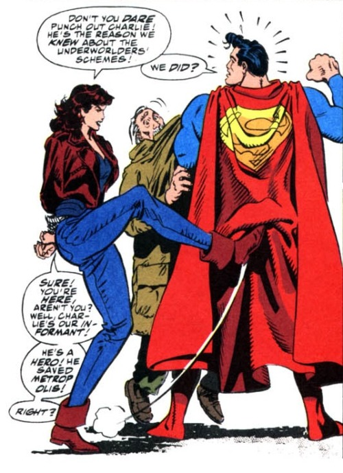 loislaneverse:  Lois Lane Panel of the Day ~The Death of Superman