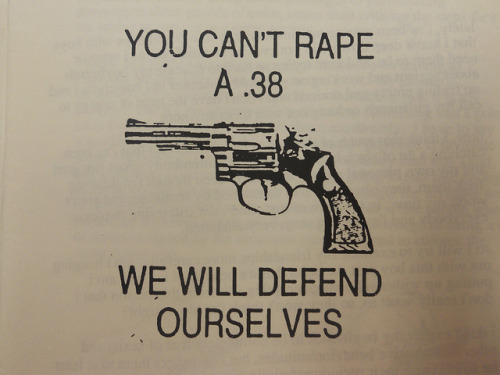 melloyellocrux:  You can't rape a .38 by antropofagista on Flickr.