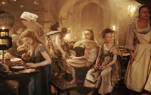 Actors in the Castle Kitchen