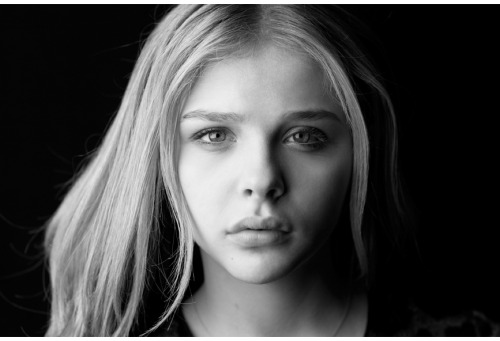 bohemea:  Chloe Moretz portrait at the Toronto Film Festival by Brigitte Lacombe, 2011