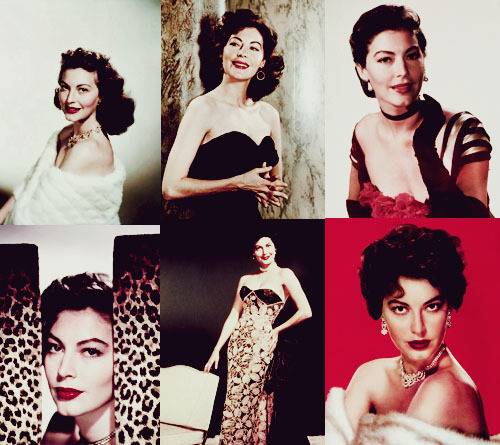 bellatrix-corleone:  25 sources of insecurity——> Ava Gardner