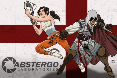 Portal + Assassins Creed