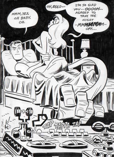 tombllr:  everyone is posting awesome bruce timm art.  Here is my contribution.