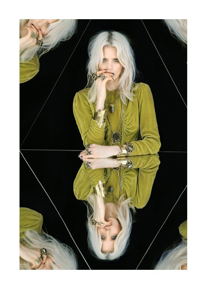 Abbey Lee Kershaw via fashiongonerogue