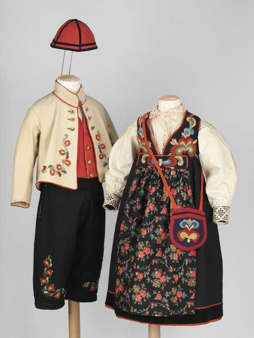Norwegian ensembles via The Costume Institute of the Metropolitan Museum of Art