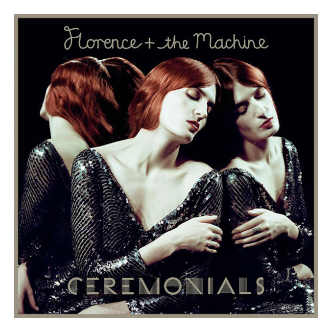 Florence + The Machine 'Ceremonials' Album Cover