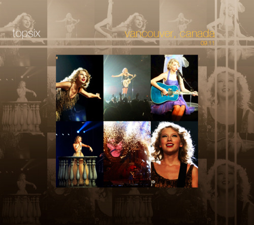 Speak Now Tour | Vancouver, Canada September 11