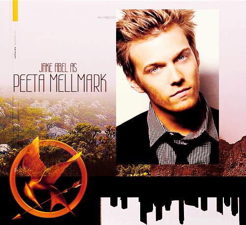 THE HUNGER GAMES DREAMCAST ::⚡ jake abel as peeta mellmark  cast jake as ALL the things!