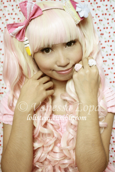 lolistein:  [Gothic Lolita Wigs] Strawberries & Cream 2G This is such a gorgeous wig! I've shot a video review of it, which I'll be uploading within the next week. I'm not gonna blab too much here. :P All I can say is that GLW's quality is superb. It's worth the price you pay, I promise. You can visit my Facebook page to see more photos of this wig. :) ——————————— Photo credits: taken by Vanessa Lopa ——————————— Facebook || LOOKBOOK.nu || YouTube || Cosplay Blog || Who is Lolistein?  UPDATE: My GLW Muse album is up!