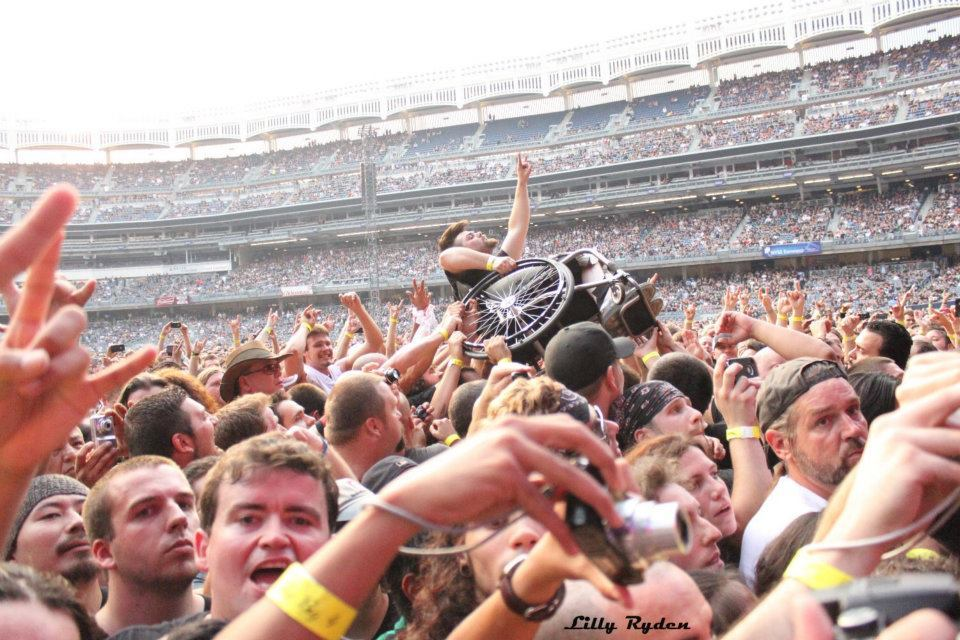 METAL (alternate angle) The Big 4 concert - Yankee Stadium - New York, NY September 14 2011