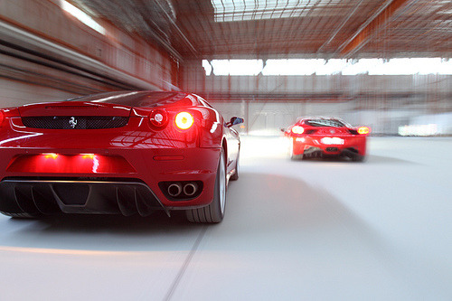 automotivated:  458 & 430 (by ZhaoDi 57851)