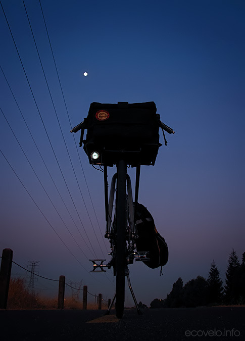 ondapi:  Moonlight, Bikelight from Ecovelo
