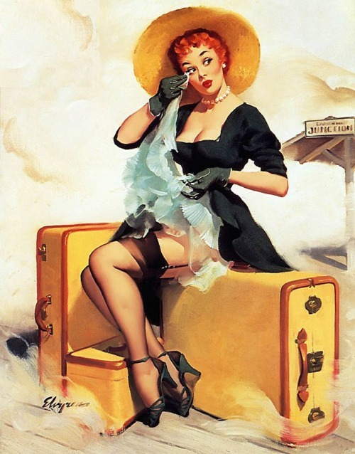 100 years from now, Gil Elvgren will still be awesome. artofthepin-upgirl:  Elvgren
