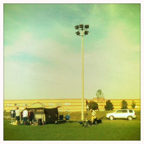 On the field -YRT soccer shot Jimmy Lens, Blanko Film, No Flash, Taken with Hipstamatic