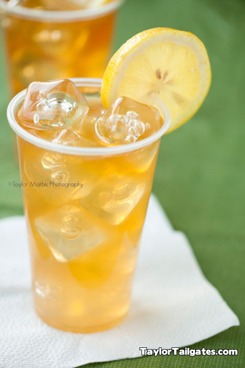 'the john daly' - iced tea, lemonade, and vodka.