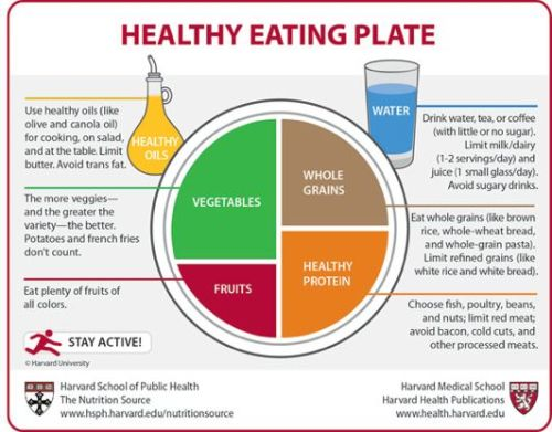 Harvard enhances USDA's MyPlateNutrition experts create the Healthy Eating Plate, a makeover of MyPlate that includes more specific eating information.