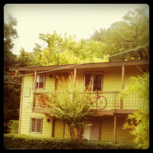 Our humble abode for the next 3 days #ACL (Taken with Instagram at The Willows)