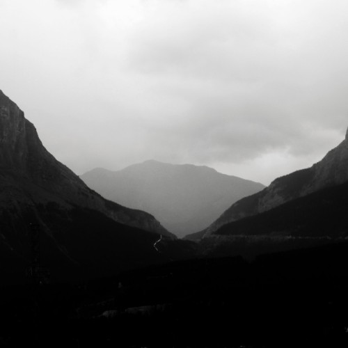 Rainy Mountains One in Banff photographed by H.L. Goyer - Read more about it here