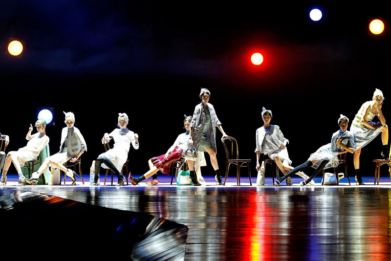 And all that jazz… Marc Jacobs Spring 2012 Photo: Getty Images